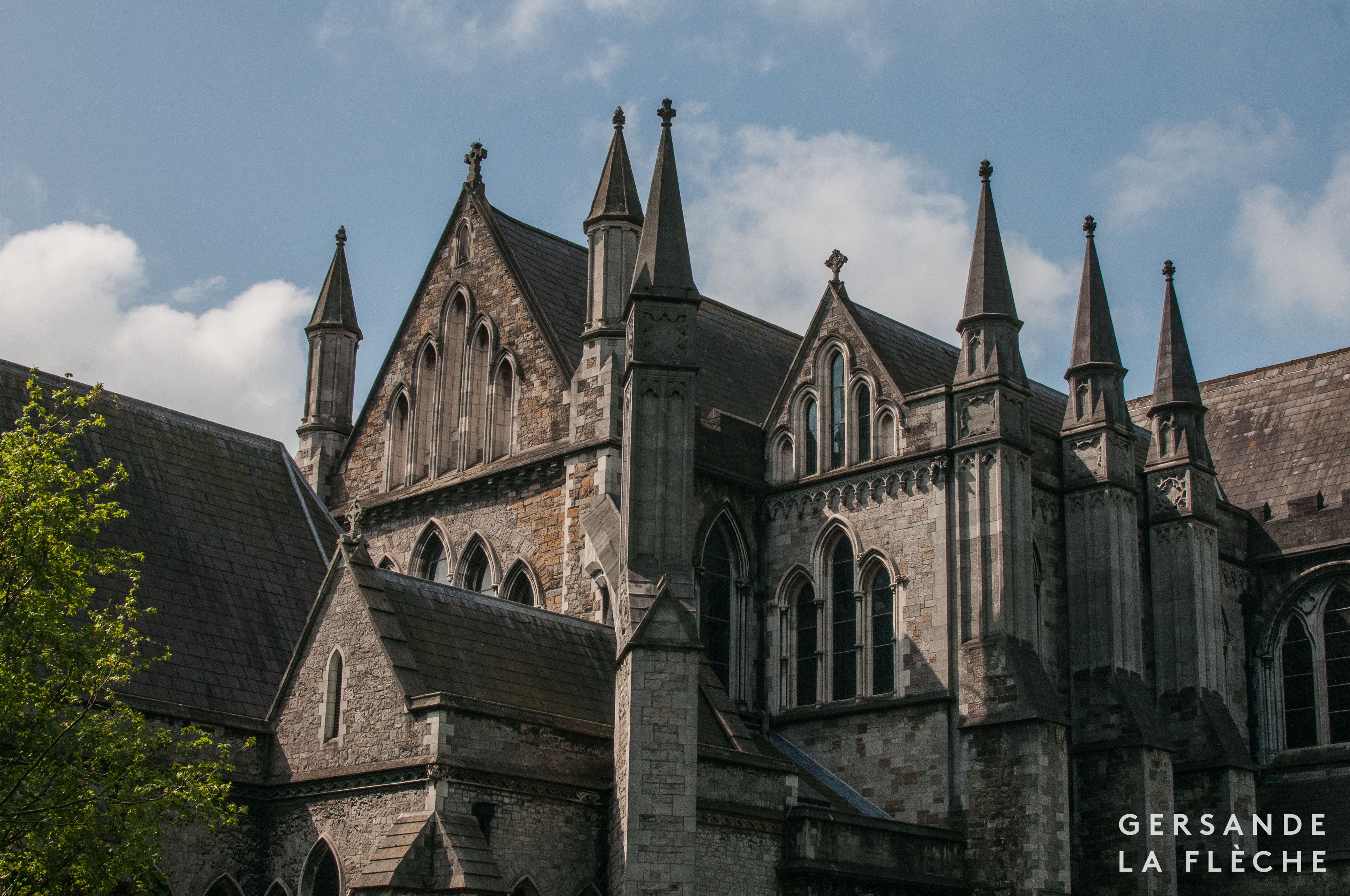 Photo by the author of Saint Patrick's cathedral.