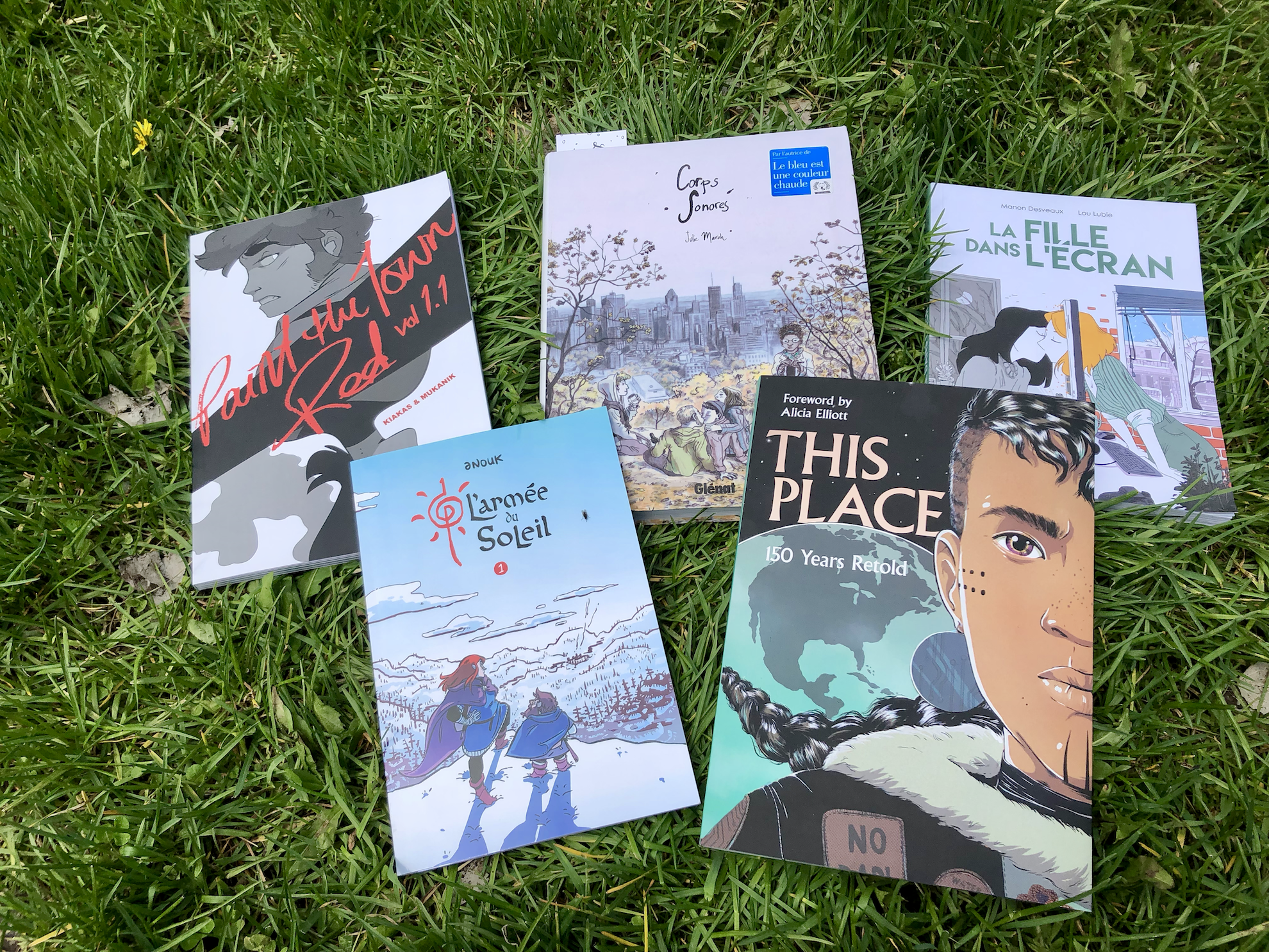 Five Finds at the Festival BD de Montréal
