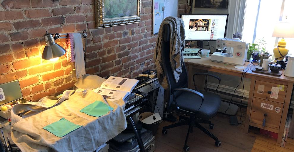 Journal de projet: un tablier croisé dans le dos