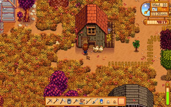 The gentleman farmer, labour and land: ecocritical possibilities in Stardew Valley